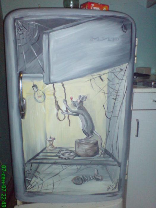 Необычный холодильник своими руками